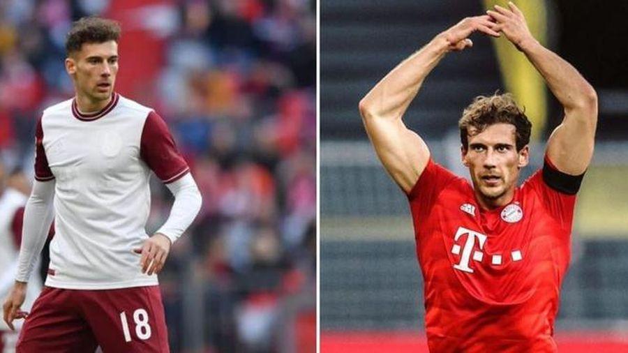 Ngôi sao cơ bắp của Bayern vui mừng khi đánh bại Messi