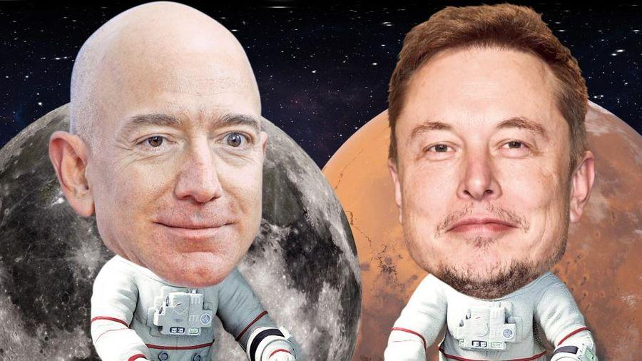 Jeff Bezos, Elon Musk và kế hoạch táo bạo chiếm lĩnh không gian