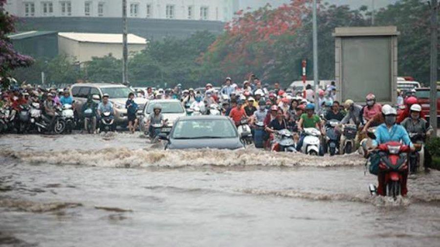 Những tuyến phố nào tại Hà Nội có nguy cơ ngập lụt trong những ngày tới?