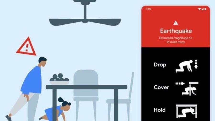 Google biến điện thoại Android thành hệ thống cảnh báo động đất