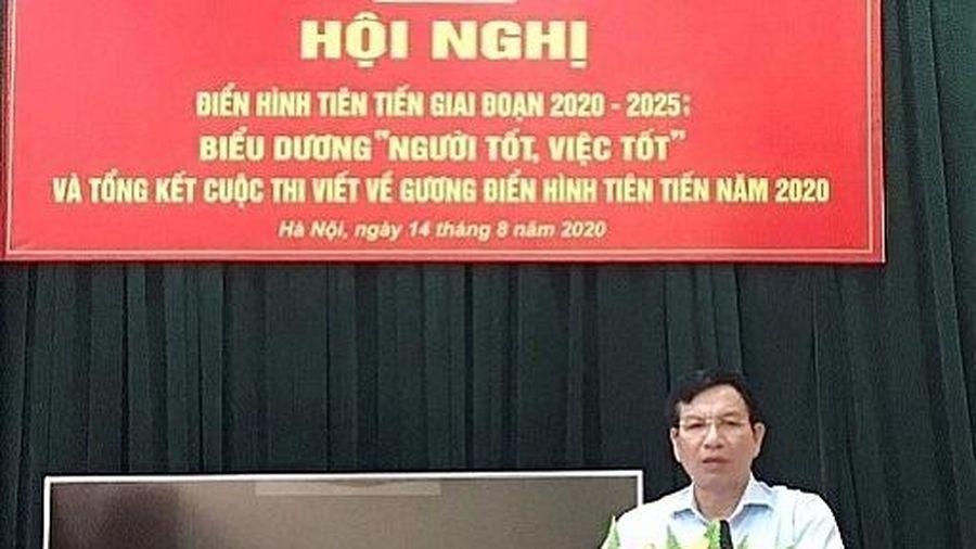 Ban Dân tộc TP Hà Nội tổ chức Hội nghị điển hình tiên tiến giai đoạn 2020-2025