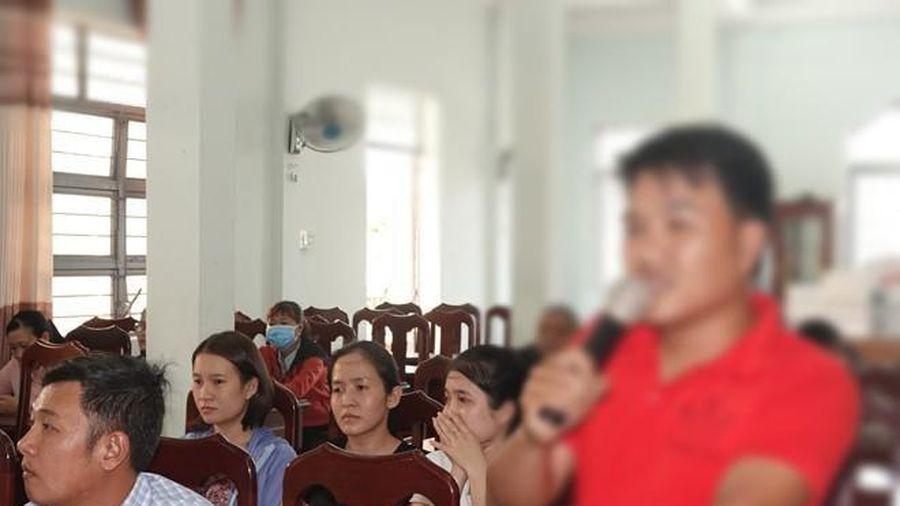 49 giáo viên hợp đồng tỉnh Bình Định không được đặc cách vì lắt léo câu chữ?