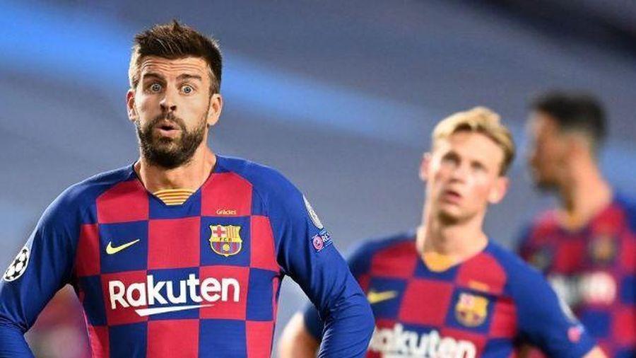Barca thảm bại 2-8, cúi đầu rời Champions League