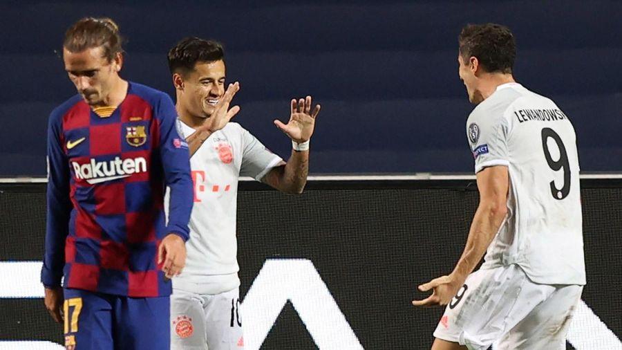 Coutinho xát muối vào thảm họa của Barca