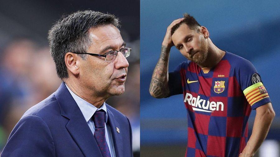Bi kịch Barca: Messi ép ông Bartomeu từ chức