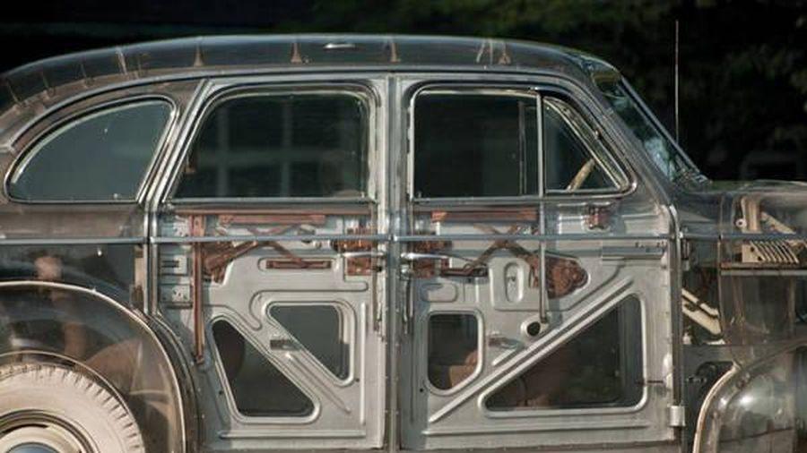 Cận cảnh chiếc xe trong suốt đầu tiên được sản xuất tại Mỹ