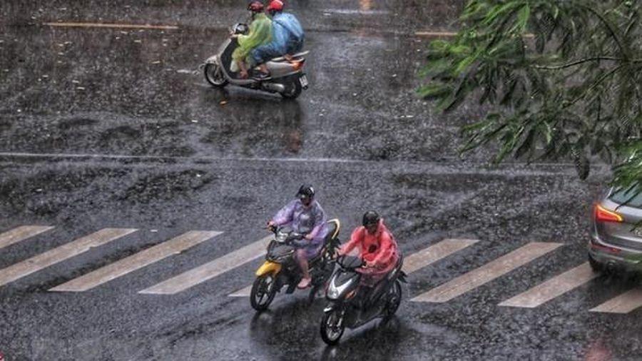 Nhiều tỉnh phía Bắc và Thanh Hóa tiếp tục mưa lớn