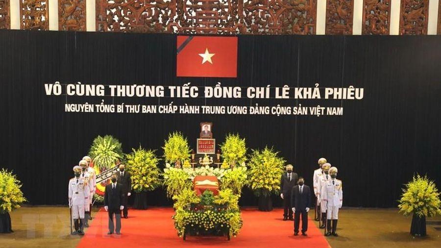 ĐSQ Việt Nam tại nhiều nước tiễn đưa nguyên Tổng Bí thư Lê Khả Phiêu