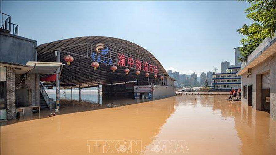 Trung Quốc nâng cấp độ ứng phó với lũ lụt