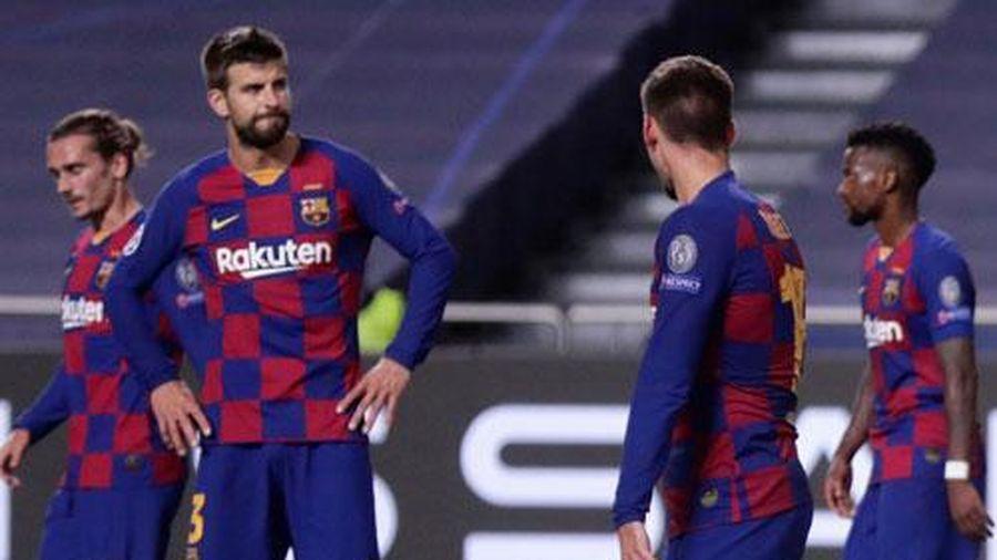 Thảm bại trước Bayern, Barca lập nên hàng loạt kỷ lục tệ hại