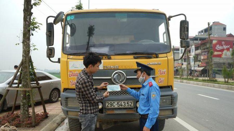 7 tháng đầu năm, TTGT Hà Nội xử lý gần 3.000 trường hợp vi phạm