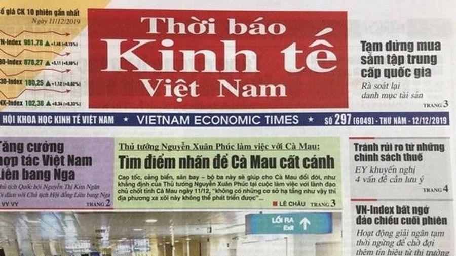 Chuyển đổi Thời báo Kinh tế Việt Nam thành Tạp chí Kinh tế Việt Nam