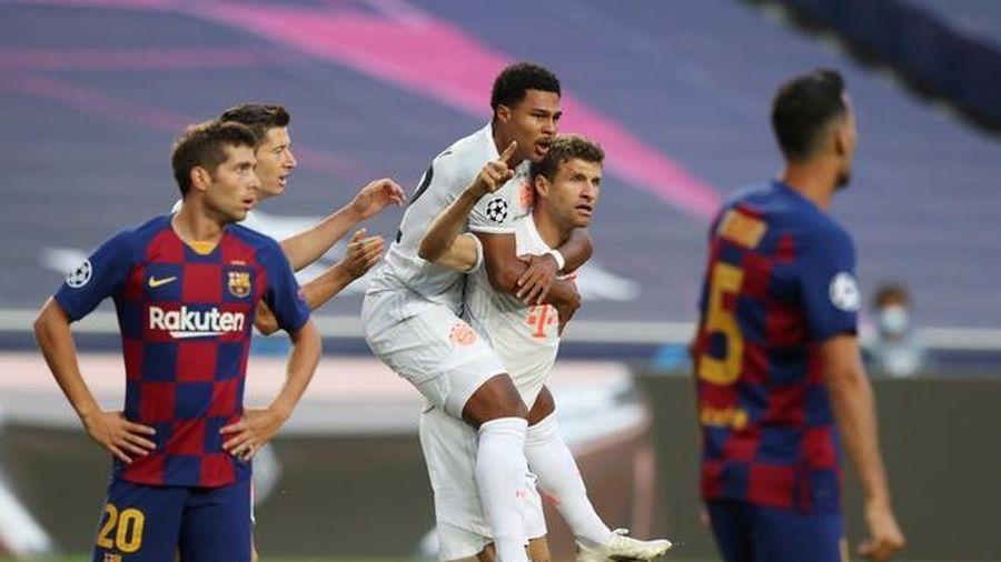 Bayern hủy diệt Barca và Messi 8-2, hiên ngang vào bán kết Champions League