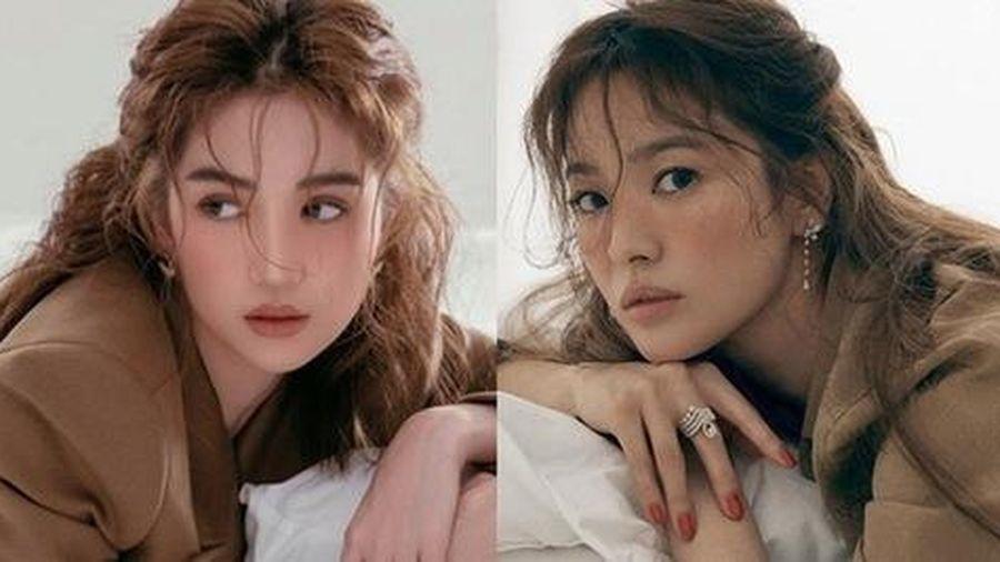Ngọc Trinh 'bê' nguyên concept giống Song Hye Kyo trong bộ ảnh mới