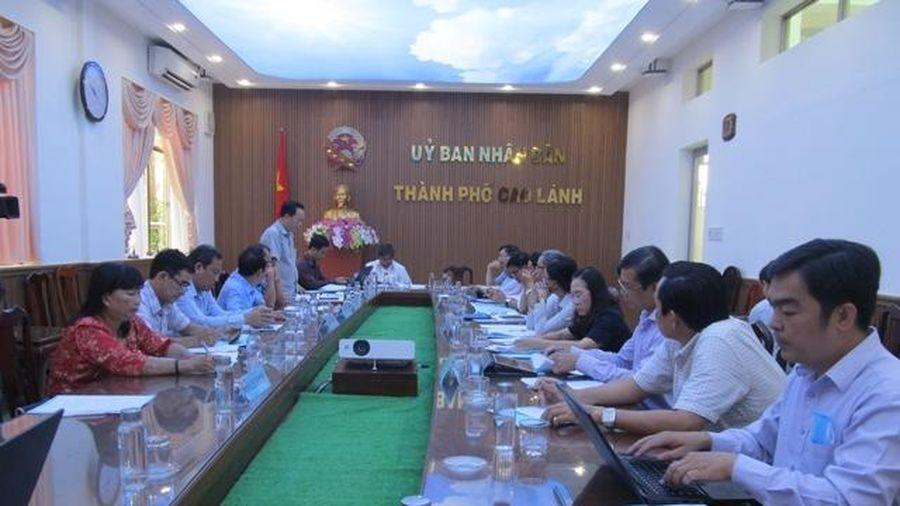Hội đồng nhân dân tỉnh khảo sát chương trình phát triển nhà ở TP.Cao Lãnh