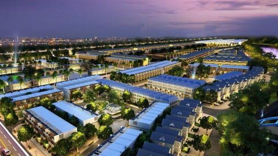 Quảng cáo dự án Harbor City ở cảng Phú Định là bất hợp pháp