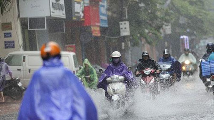 Thời tiết ngày 15/8: Miền Bắc mưa to, vùng núi có nơi mưa rất to