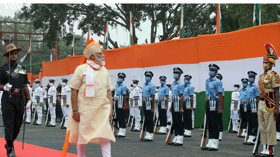 Ấn Độ kỷ niệm 74 năm ngày Độc lập, nhấn mạnh tầm nhìn tự cường