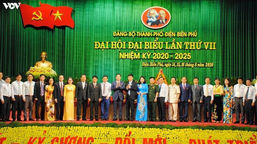 Ông Hà Quang Trung tái trúng cử Bí thư Thành ủy Điện Biên Phủ