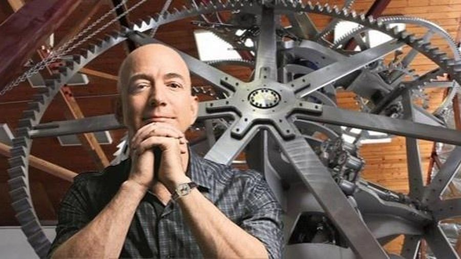 Vì sao Jeff Bezos chế tạo 'siêu đồng hồ' 10.000 năm tuổi?