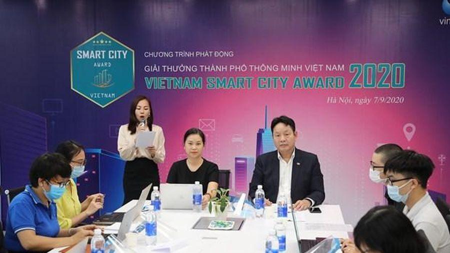 Chính thức phát động Giải thưởng Thành phố Thông minh Việt Nam 2020 - Báo  VietnamPlus