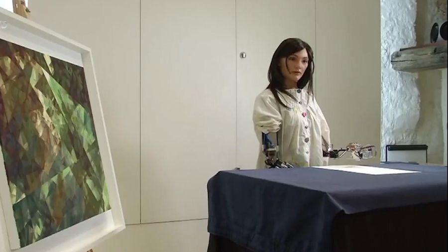 Triển lãm nghệ thuật của robot