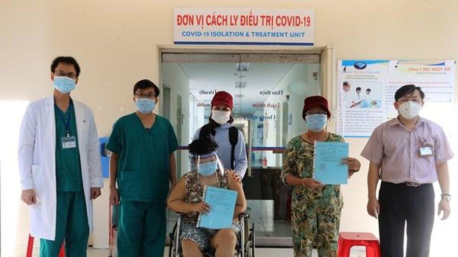 Quảng Nam có thêm 2 ca mắc Covid-19 khỏi bệnh, xuất viện