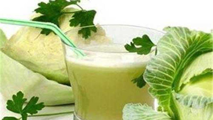 Những công dụng chữa bệnh thần kỳ của nước ép bắp cải