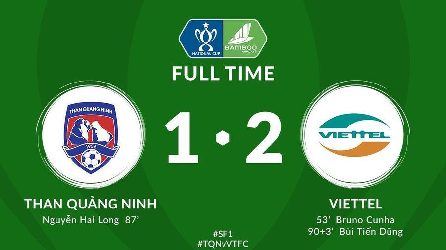 Bùi Tiến Dũng ghi bàn phút bù giờ, Viettel lần đầu vào chung kết Cúp Quốc gia