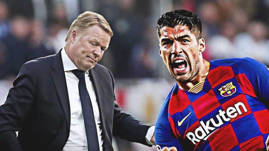 HLV Koeman: 'Suarez sẽ có tên trong đội hình nếu ở lại'