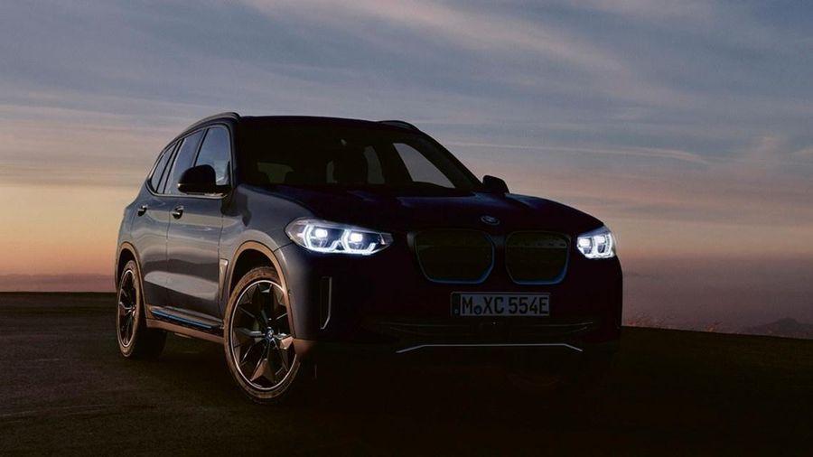BMW iX3 2021 – mẫu SUV điện đắt hơn BMW X6