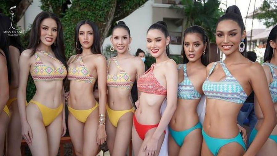 Thảm họa khi trình diễn đồ tắm khiến Miss Grand Thailand trở thành 'Hoa hậu lộ hàng'