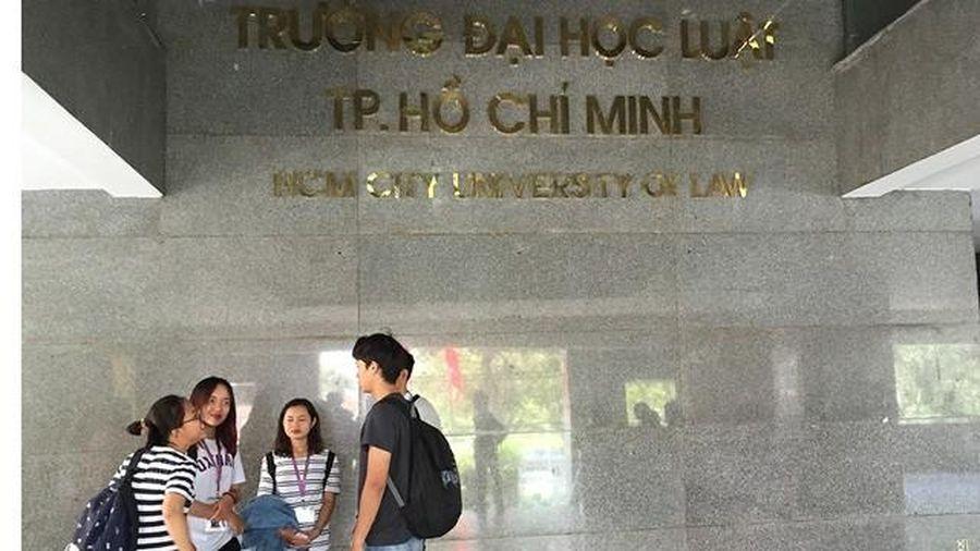Trường ĐH Luật TP. HCM công bố điểm sàn 2020