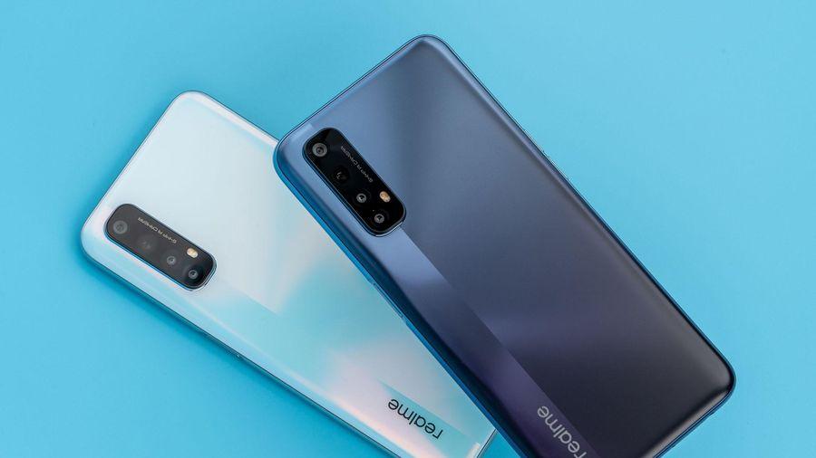 Realme 7 series với hai màu 'Sương lam - Khói trắng' sắp mở bán tại Việt Nam