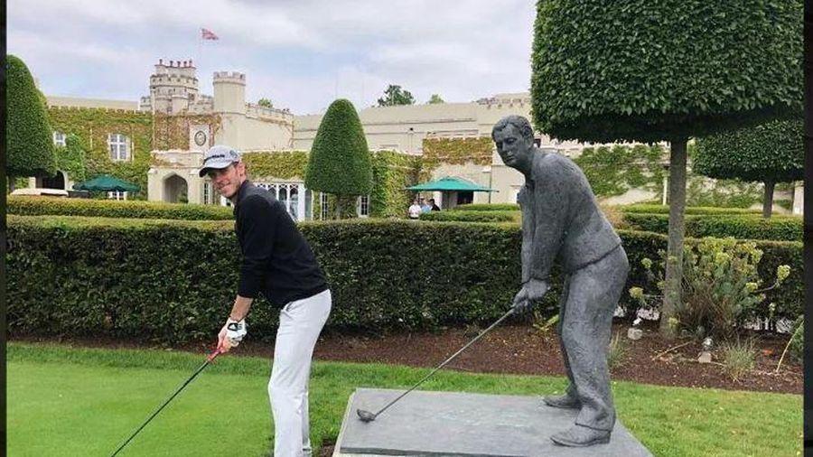 Chưa ra mắt, Bale đã đi đánh golf với chủ tịch Tottenham?