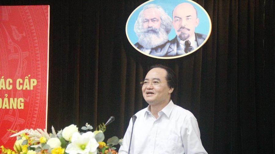 Bộ trưởng Phùng Xuân Nhạ: 'Đầu vào' quan trọng, nhưng không phải quyết định tất cả!