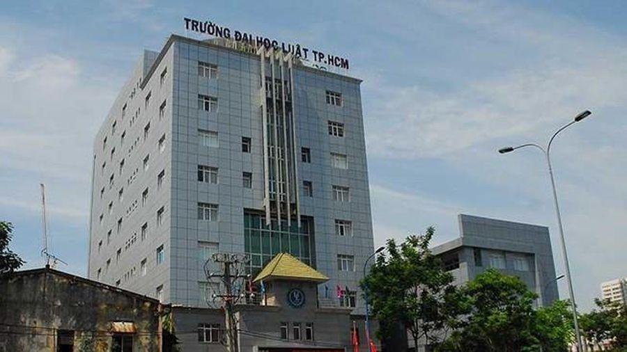 Trường ĐH Luật TP.HCM công bố điểm sàn xét tuyển điểm thi THPT