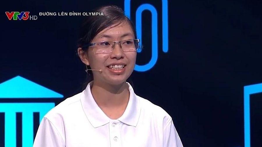 Chung kết Đường lên đỉnh Olympia 2020: Nữ sinh duy nhất sẵn sàng đối đầu với mọi thử thách