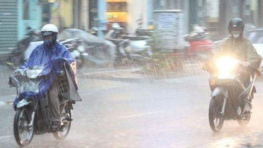 Dự báo thời tiết đêm nay và ngày mai (18-19/9): Mưa rào và rải rác có dông; mưa to ở Đông Bắc bộ và Bắc Trung bộ