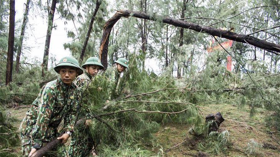 Thừa Thiên Huế: Khẩn trương khắc phục hậu quả do bão số 5 gây ra