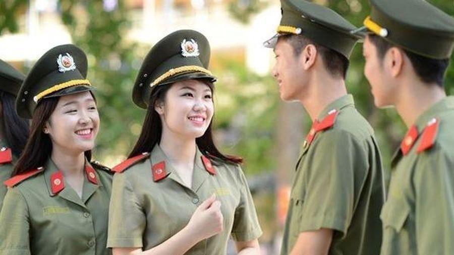 Điểm sàn một số trường công an, quân đội năm 2020