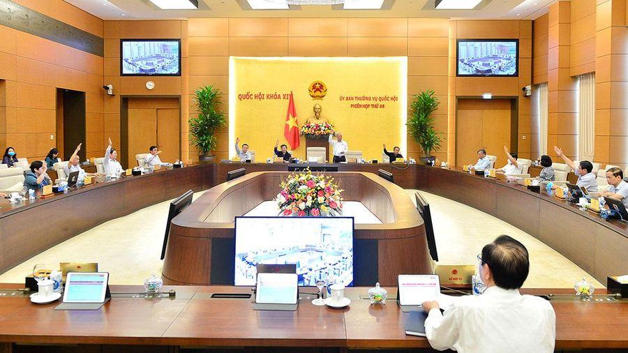 Thông qua Nghị quyết thành lập thành phố Hồng Ngự, tỉnh Đồng Tháp