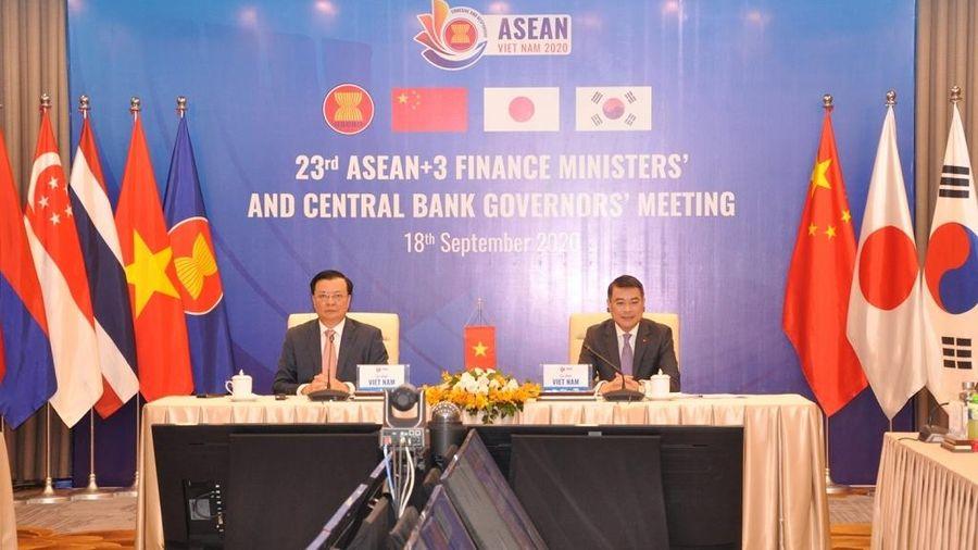 Hội nghị trực tuyến Bộ trưởng Tài chính và Thống đốc Ngân hàng Trung ương ASEAN+3
