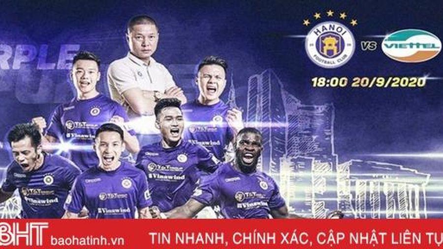 Lịch thi đấu chung kết Cúp Quốc gia 2020: Hà Nội FC đại chiến Viettel
