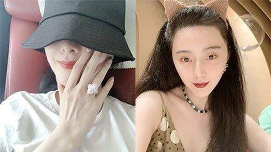 Phạm Băng Băng đeo nhẫn kim cương 75 tỷ đồng ở ngón áp út