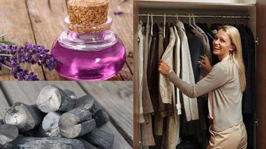Cách khử mùi hôi tủ quần áo