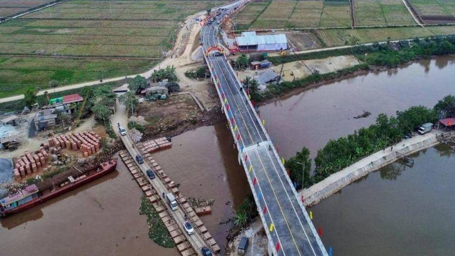 Sớm bố trí vốn hoàn thiện 2 cây cầu qua tỉnh Thái Bình