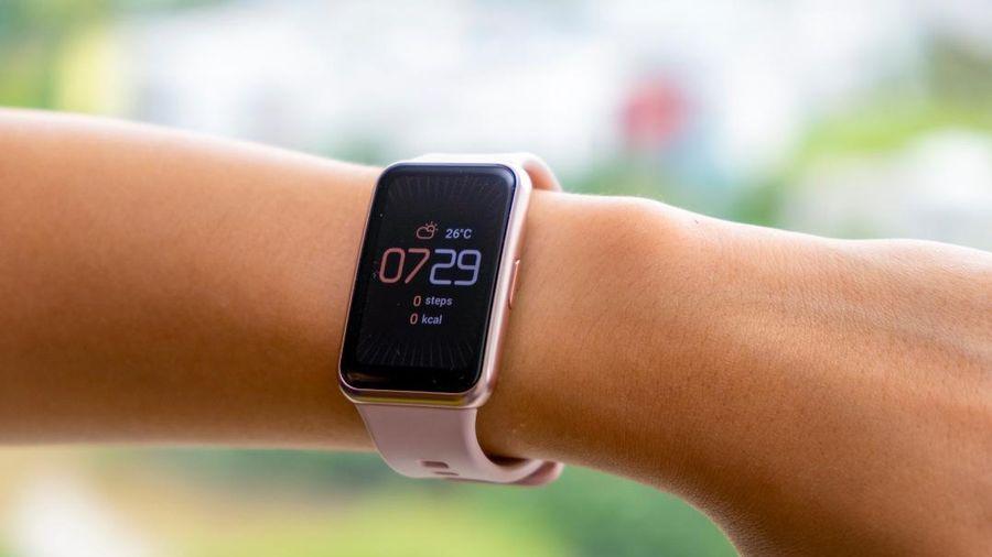 Đập hộp Huawei Watch Fit: Thiết kế lạ mắt, nhiều tính năng tập luyện