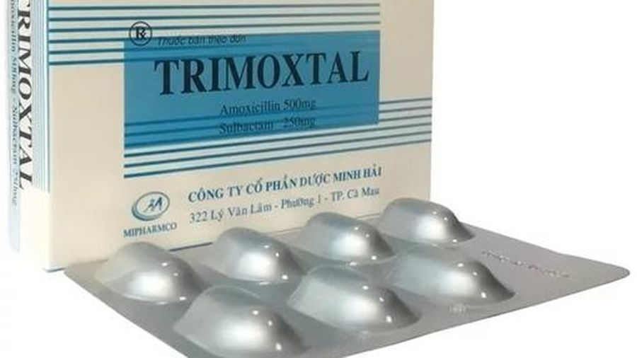 Không đạt chất lượng, thuốc kháng sinh Trimoxtal bị thu hồi trên toàn quốc
