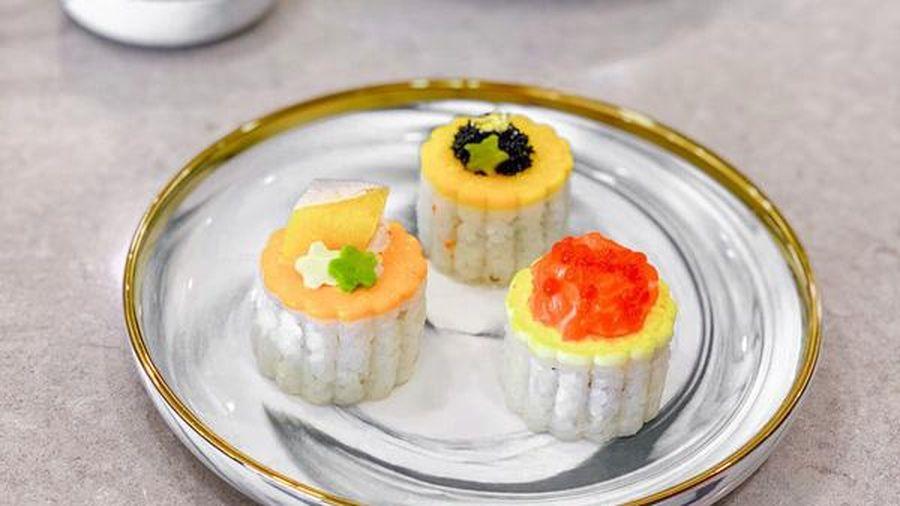 Bánh Trung Thu sushi tiền triệu/hộp, gây 'sốt' thị trường